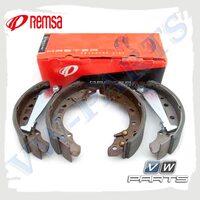 Колодки тормозные барабанные задние Remsa 404600