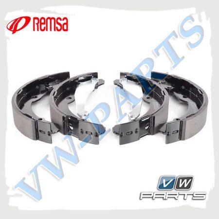 Колодки тормозные барабанные задние Remsa 408200