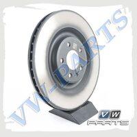 Диск тормозной задний VAG 4M0615601P