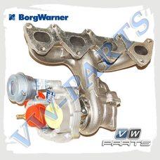 Турбина с коллектором Borgwarner 53039880459