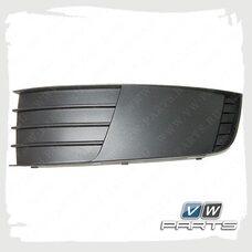 Решетка бампера левая VAG 5E08073679B9
