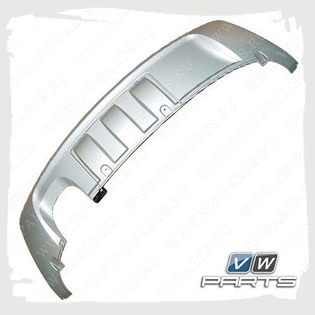 Защита заднего бампера (серебро) VAG 5N00716116M7