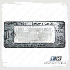 Фонарь освещения номерного знака VAG 5N0943021B