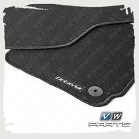 Коврики передние и задние текстильные VAG 5E1061404C