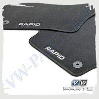 Коврики передние и задние текстильные VAG 5JB061404E