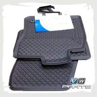 Коврики передние и задние резиновые VAG 5NB06150082V