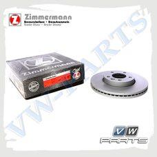 Диск тормозной передний Zimmermann 600.3223.20