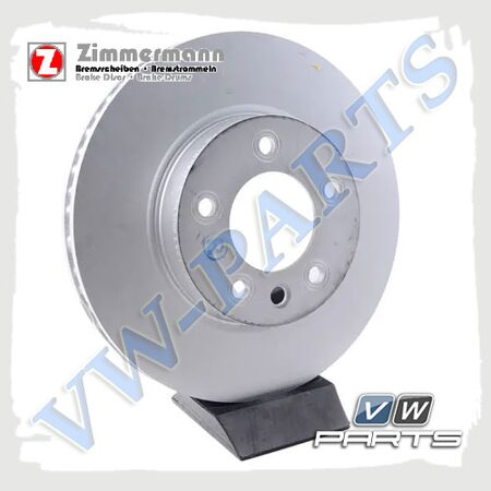 Диск тормозной передний правый Zimmermann 600.3225.20