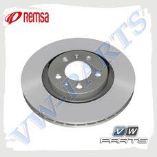 Диск тормозной передний Remsa 6147910