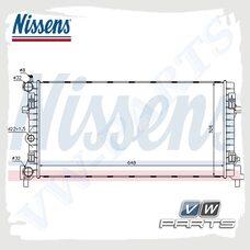 Радиатор охлаждения двигателя Nissens 640012