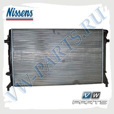 Радиатор системы охлаждения Nissens 65277