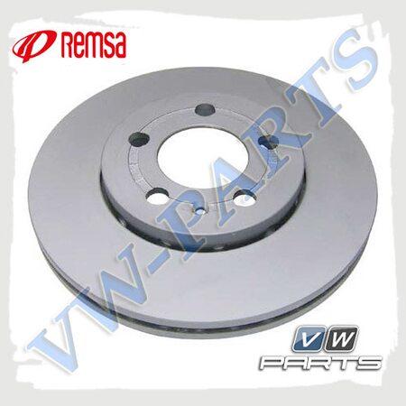 Диск тормозной передний Remsa 654510