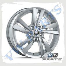 Диск колеса R15 Cygnus Skoda, 6V0071495D8Z8