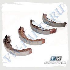 Колодки тормозные барабанные задние VAG 6C0698520