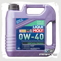 Масло моторное LIQUI MOLY Synthoil Energy (502.00/505.00) 0W40 (4 л.)