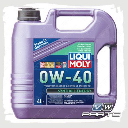 Масло моторное LIQUI MOLY Synthoil Energy (502.00/505.00) 0W40 (4 л.)