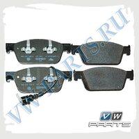 Колодки тормозные передние VAG 7E0698151C