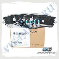 Колодки тормозные задние VAG 7H0698451B