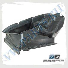 Воздуховод интеркулера левый VAG 7P6117335
