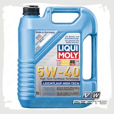 Масло моторное LIQUI MOLY Leichtlauf High Tech (502.00/505.00) 5W40 (5 л.)