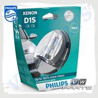 Лампа D1S Philips Xenon X-treme Vision +150% (85V 35W) 85415XV2S1