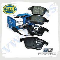 Колодки тормозные передние HELLA 8DB355014-031