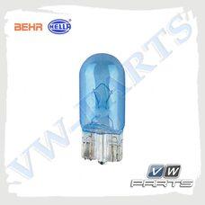 Лампа накаливания W5W/12V/5W w2.1x9.5d Blue Light (Behr-Hella), 8GP003594-261