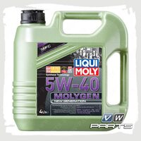Масло моторное LIQUI MOLY Molygen New Generation (502.00/505.00) 5W40 (4 л.)