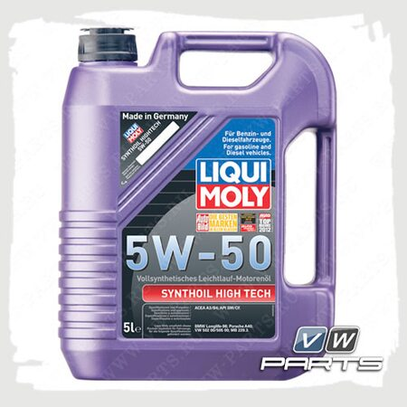 Масло моторное LIQUI MOLY Synthoil High Tech (502.00/505.00) 5W50 (5 л.)