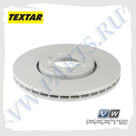 Диск тормозной передний Textar 92106603