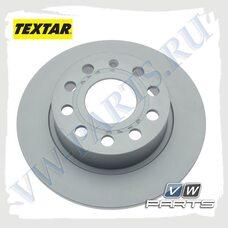 Диск тормозной задний Textar 92120903