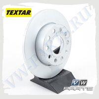 Диск тормозной задний Textar 92121103