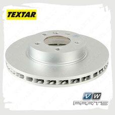 Диск тормозной передний левый Textar 92121500