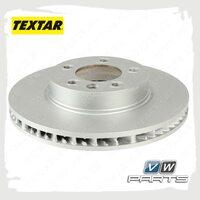 Диск тормозной передний правый Textar 92121605