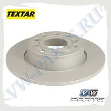 Диск тормозной задний Textar92224903