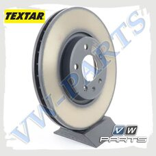Диск тормозной передний Textar 92229303