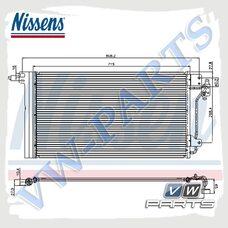 Радиатор кондиционера Nissens 94604