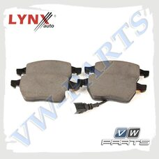 Колодки тормозные передние Lynx BD1212