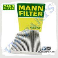 Фильтр салона (угольный) Mann CUK2450
