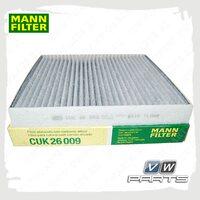 Фильтр салона (угольный) Mann CUK26009