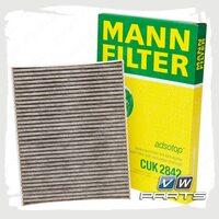 Фильтр салона (угольный) Mann CUK2842
