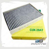 Фильтр салона (угольный) Mann CUK2847/1