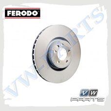 Диск тормозной передний Ferodo DDF2598C-1