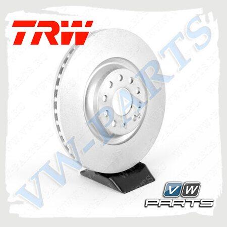Диск тормозной передний TRW DF6133S