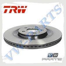 Диск тормозной задний TRW DF6175S
