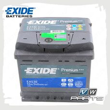 Аккумуляторная батарея Exide Premium (53AH/540A) EA530