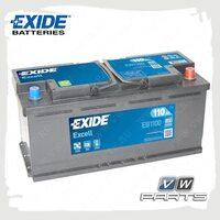 Аккумуляторная батарея Exide Excell (110AH/850A) EB1100