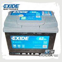 Аккумуляторная батарея Exide Excell (62AH/540A) EB620