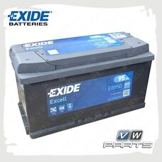 Аккумуляторная батарея Exide Excell (95AH/800A) EB950