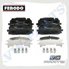 Колодки тормозные передние Ferodo FDB4967